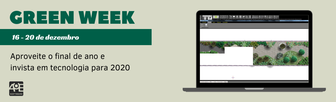 A AuE Software realiza de 16 a 20 de dezembro a Green Week