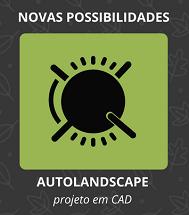 AutoLANDSCAPE, projeto de paisagismo em CAD