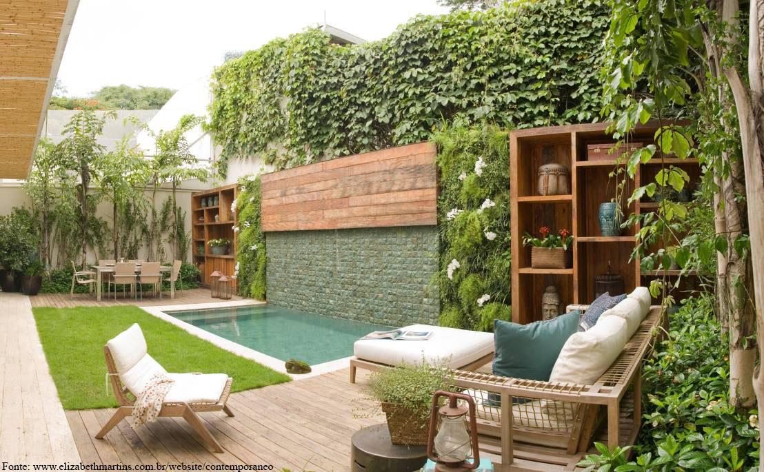 Aue paisagismo conhe a os tipos de jardins usado for Construir una piscina en un patio pequeno
