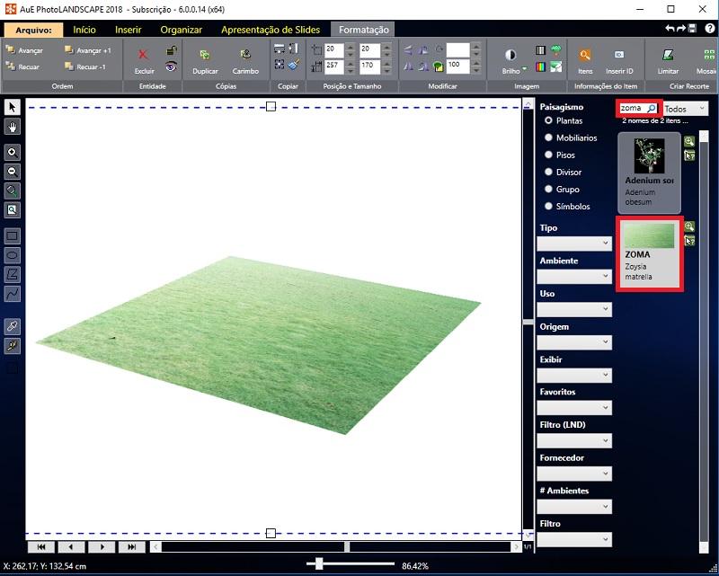 Veja como aplicar material no Plano 3D