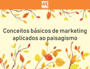 Ebook: Conceitos básicos de marketing no paisagismo