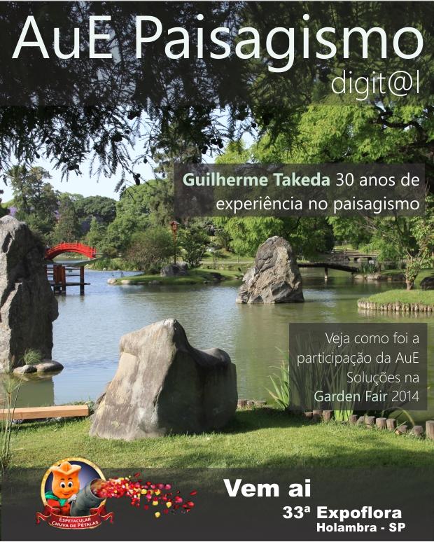 Guilherme Takeda 30 anos de experiência no paisagismo